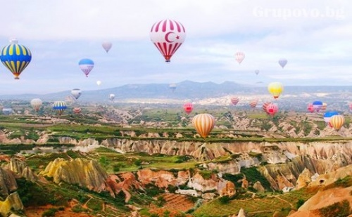 За Гергьовден: Екскурзия до <em>Кападокия</em>, Анaдола, Анкара и Истанбул. Транспорт, 4 Нощувки, 4 Закуски и 3 Вечери от Караджъ Турс