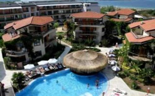 Лятна Почивка 2018 на Плаж Златна Рибка, 5 Дни All Inclusive с Безплатен Плаж до 10.07 в Хотел Лагуна Бийч, Созопол