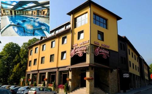 Специална Цена за Нощувка, Закуска и Вечеря + Басейн и Спа в Парк Хотел Гардения****, <em>Банско</em>!