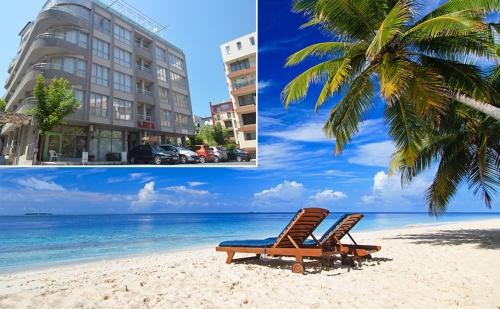Лято в Несебър на 100М от Южния Плаж. Нощувка със Закуска за Двама, Трима или Четирима в Хотел Стела. Дете до 12 Год. Безплатно!