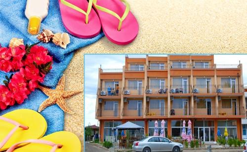 На Море в Равда, на 40М от Плажа. Нощувка, Закуска, Обяд и Вечеря в Хотел Германа Бийч