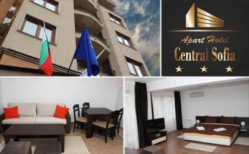 Нощувка в <em>София</em>! Апартамент за Двама само за 69 лв. в Central Sofia.