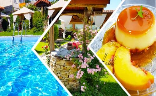 Нощувка, Закуска и Вечеря + Джакузи и Басейн с Минерална Вода за 33.90 лв. в Хотел Шарков, <em>Огняново</em>