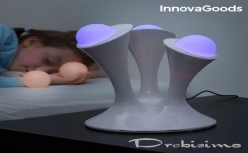 Флуоресцентна Детска Led Лампа с Различни Цветове