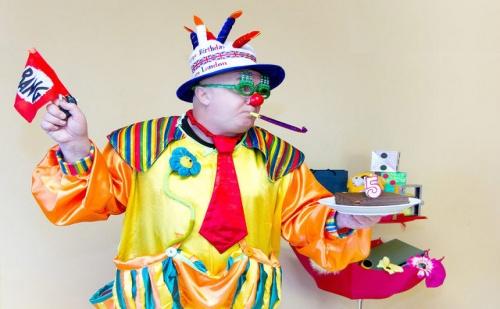 Наем на Клоуна Панко  за 60 или 90 Минути, Много Игри, Забавления, Дискотека + Украса от Театър Пан
