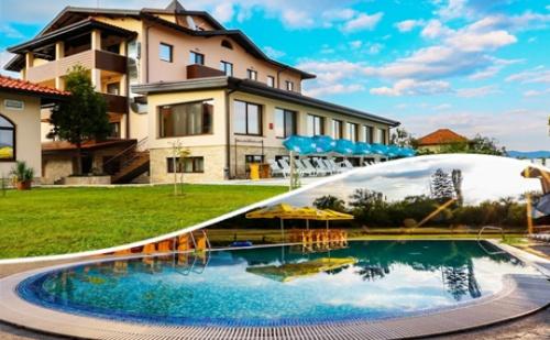 Минерален Басейн и Спа + Нощувка със Закуска за 2, 3 или 4 Човека в Хотел Никол, <em>Долна Баня</em>!