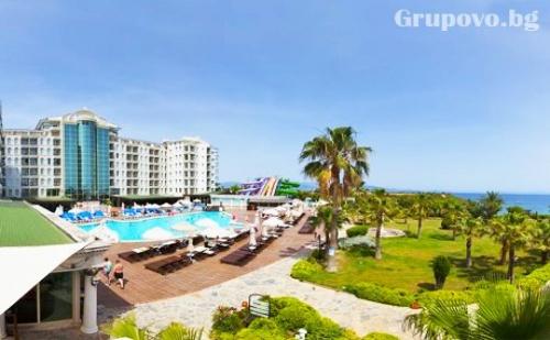 21.09 - 30.09: 5* All Inclusive на брега на морето в <em>Дидим</em>, Турция! 7 нощувки + 2 басейна от хотел Didim Beach Elegance. Дете до 12.99г. - БЕЗПЛАТНО