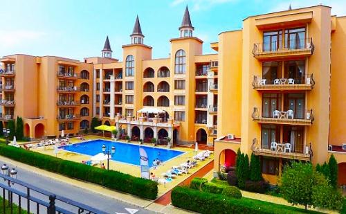 Лято в Слънчев Бряг на Топ Цени! Нощувка на База All Inclusive + Басейн в Апарт Хотел Palazzo***