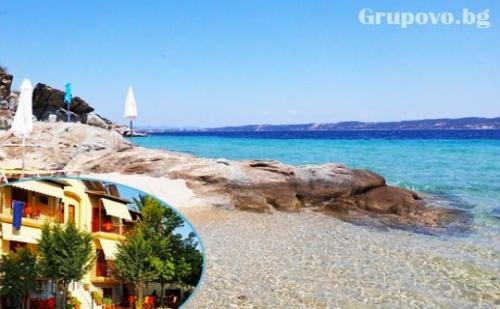 Септември на Остров <em>Амулиани</em>, Гърция! Нощувка със Закуска за Двама, Трима или Четирима в Хотел Gallery