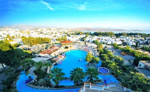 На Море в <em>Бодрум</em>, Турция! 7 Нощувки на База All Inclusive + 2 Басейна и Спа в Хотел Palm Garden****. Дете до 12Г. - Безплатно