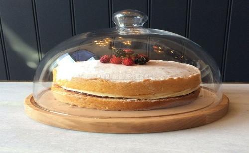 Дървена Поставка за Торта или Кекс с Капак Sinbo