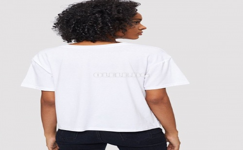 Дамска тениска Stripe Print T-Shirt