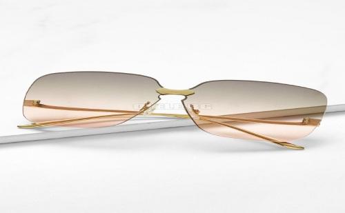 Дамски очила Metal Temple Rimless Sunglasses