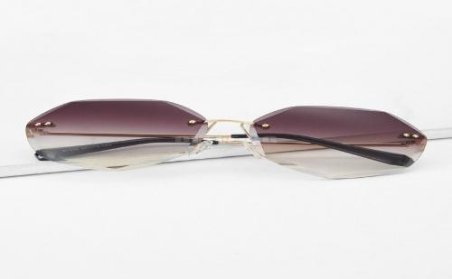 Дамски очила Ombre Rimless Sunglasses