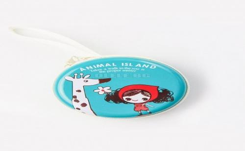 Кутийка за слушалки Giraffe Print Headphone Storage Bag