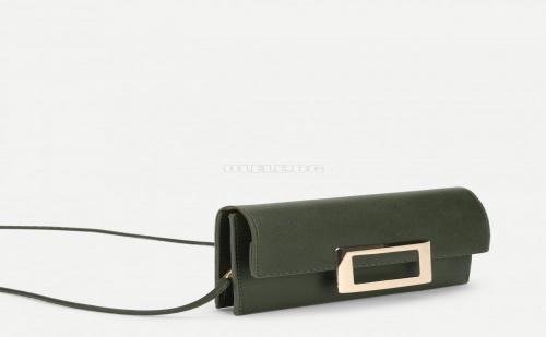 Дамска чанта с дълга дръжка Metal Detail Crossbody Bag