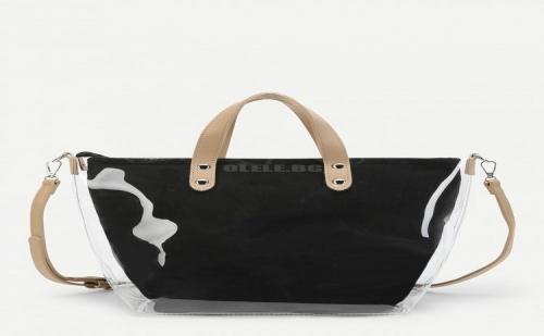 Дамска чанта Letter Print Tote Bag