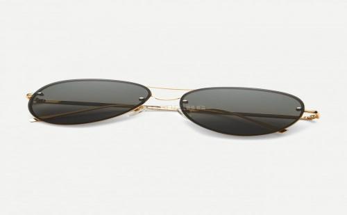 Авиаторски очила Rimless Double Bridge Aviator Sunglasses
