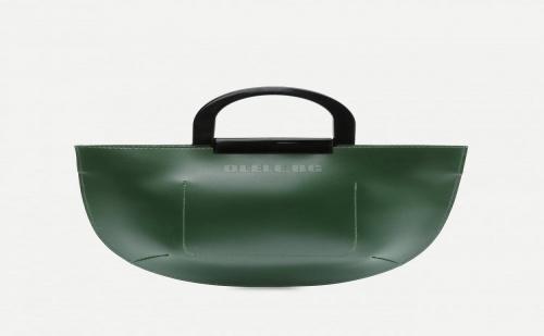 Зелена Дамска Чанта Pu Tote Bag With Contrast Handle