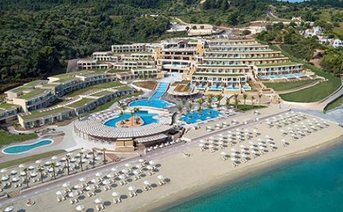 През Септември: 5 нощувки със закуски в луксозния хотел Miraggio Thermal Spa & Resort 5*, Халкидики, Гърция!