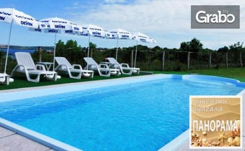 През Септември в Черноморец! 2 Нощувки със Закуски и Вечери в Бунгало - на 200М от Плажа