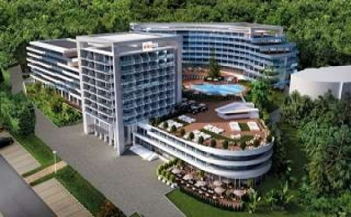 Ново След 26.08 на Първа Линия All Inclusive с Чадър и Шезлонг на Плажа от Хотел Астория Маре, <em>Златни Пясъци</em>