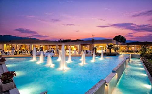 Нова Година в Гърция: 3 Нощувки със Закуски и Вечери + Гала Вечеря в Хотел Poseidon Palace 4*, <em>Олимпийска Ривиера</em>! Дете до 13.99Г. - Безплатно!