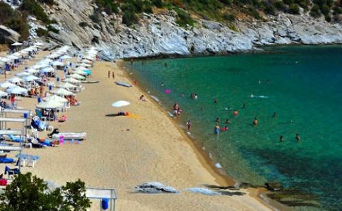 Ранни резервации: 6 нощувки, Ultra All Inclusive в хотел Bomo Club Tosca Beach 4*, Кавала, Гърция през Май!
