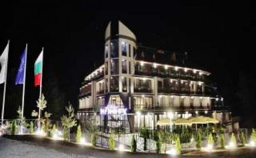 Спа Нова Година във <em>Велинград</em>, 3 Дни за Двама Полупансион с Богата Празнична Вечеря в Инфинити Хотел Парк и Спа