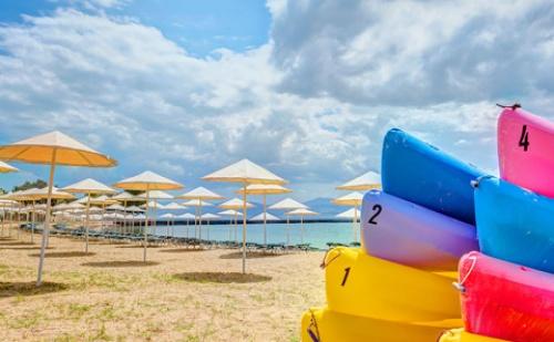 Ранни резервации: 6 нощувки, Ultra All Inclusive в хотел Bomo Palmariva Beach 4*, о.Евия, Гърция през Май!