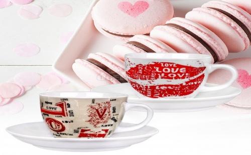 Сервиз за Кафе Love