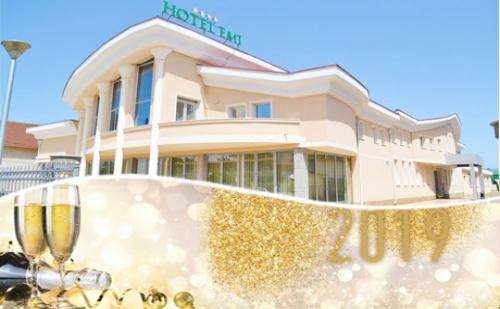 Нова Година в Хотел Emi**** Струмица, Македония! 2 Нощувки на човек със Закуски и Вечери + Новогодишен Куверт и Транспорт
