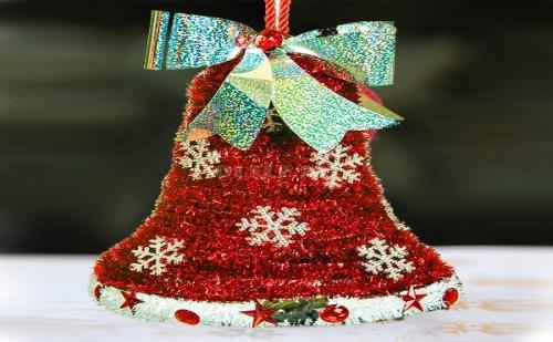 Декоративна Коледна Камбанка