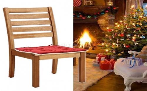 Мека и Топличка Възглавница за Стол с Две Лица