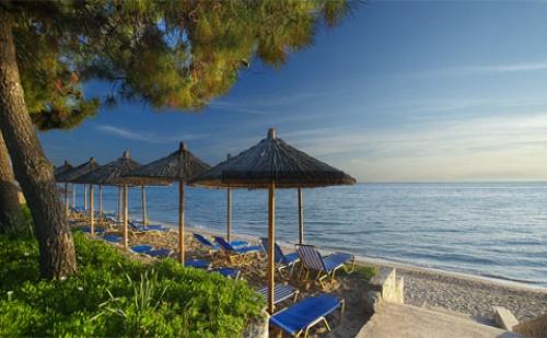 Ранни Резервации: 3 Нощувки, All Inclusive в Хотел Portes Beach Hotel 4*, <em>Халкидики</em>, Гърция през Май и Юни! Дете до 13.99Г. - Безплатно!