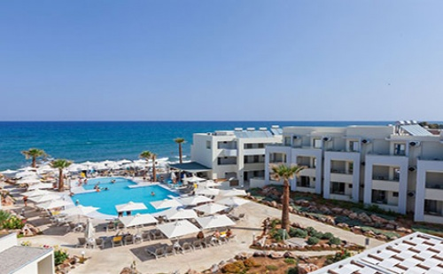 Почивка на о.Крит през Юни! 7 нощувки, Ultra All Inclusive в хотел Bomo Rethymno Beach 4*, самолетен билет и трансфер!