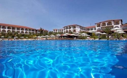 Ранни Резервации: 5 Нощувки, All Inclusive в Akrathos Hotel 4*, Халкидики, Гърция през Юли и Август!