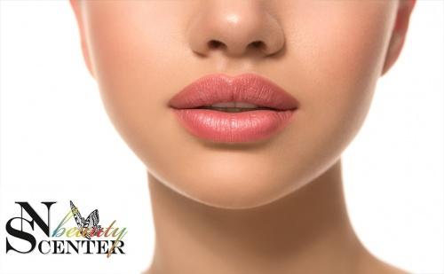 Сочни Устни! Ултразвуково Уголемяване с Хиалурон от Nsb Beauty Center!
