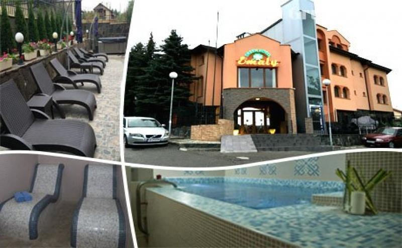 Нощувка, Закуска, Вечеря + Релакс Зона с Минерална Вода от Хотел Емали Грийн, <em>Сапарева Баня</em>
