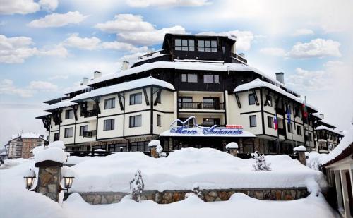 На Ски в Банско през Януари! 2, 3, 4 или 5 Нощувки със Заксуки и Вечери + Спа Зона с Басейн, Сауна и Парна Баня в Хотел Мария-Антоанета, на Метри от Лифта!
