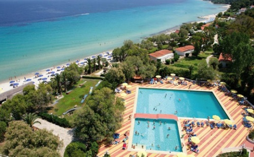 Ранни Резервации: 6 Нощувки със Закуски и Вечери в Хотел Pallini Beach 4*, Халкидики, Гърция през Май и Юни!