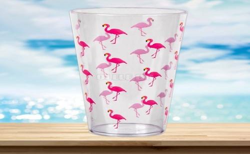 Голяма пластмасова чаша Фламинго