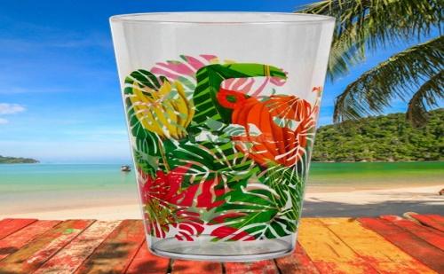 Голяма пластмасова чаша Тропик