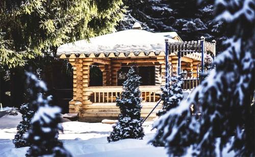 На Ски в <em>Боровец</em>! Наем на Самостоятелна Вила с или без Сауна за до 4-Ма във Вилно Селище Ягода!