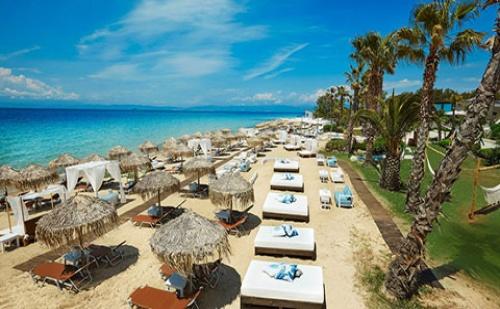 Ранни Записвания: 5 Нощувки със Закуски и Вечери в Хотел Ilio Mare 5*, о.<em>Тасос</em>, Гърция през Юни и Юли!