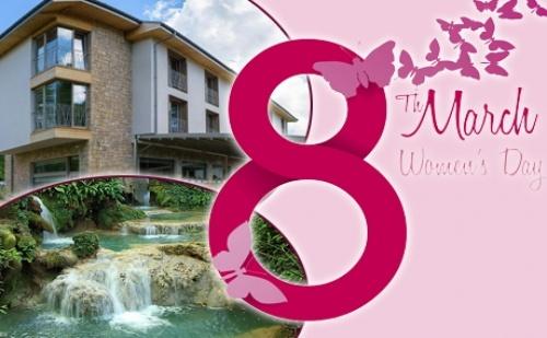 8-Ми Март Край Крушунските Водопади! 2 Нощуви на човек със Закуски + Празнична Вечеря + Релакс Зона в Хотел Катлея