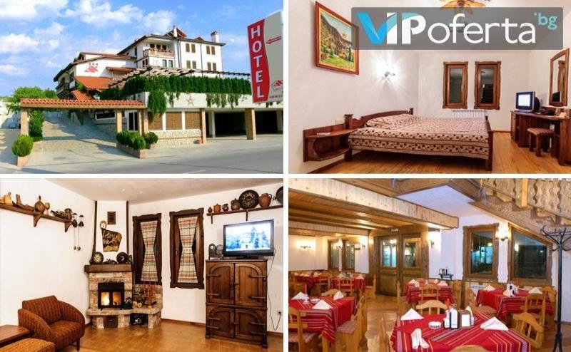 Нощувка на човек със Закуска + Релакс Пакет в Хотел Аджев Хан, <em>Сандански</em>