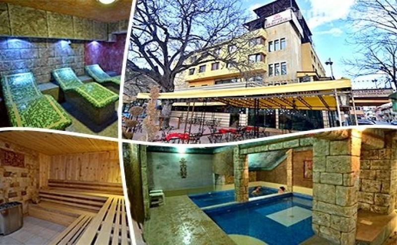 Нощувка на човек със Закуска и Вечеря + Басейн и Спа с Минерална Вода от Хотел България, <em>Велинград</em>