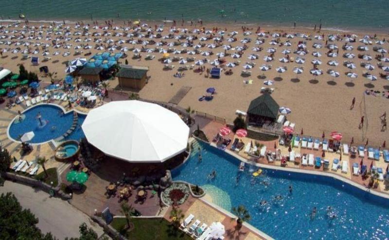 All Inclusive Почивка на Море с Безплатни Чадър и Шезлонг на Плажа в Златни Пясъци, за Една Нощувка на човек в Хотел Морско Око Гардън / 11.05.2019 - 06.06.2019