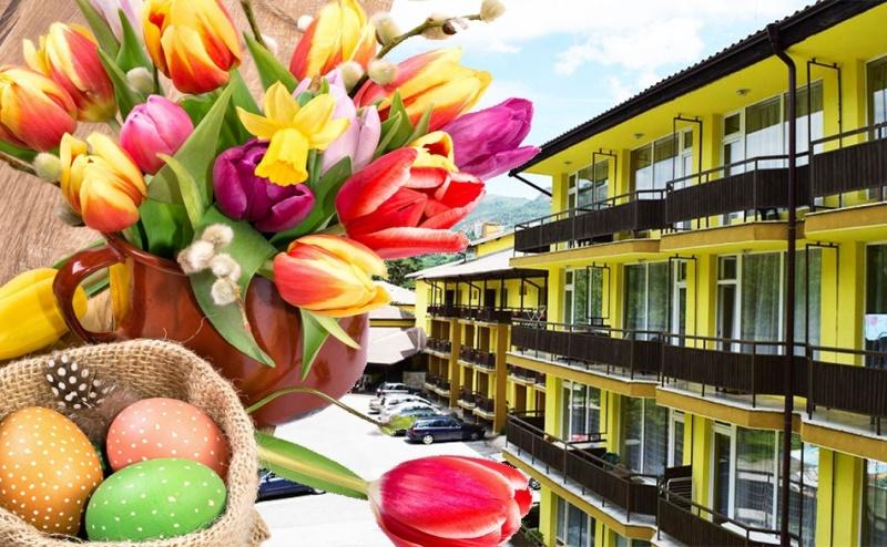 Великден в хотел Здравец, Тетевен! 3 нощувки на човек със закуски и вечери + празничен обяд, релакс пакет и масаж